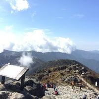Photo taken at 천왕봉 (Chunwang Peak/天王峰) by Charles Kang (. on 10/3/2017