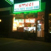 Photo taken at Ameci Pizza & Pasta by Nicolas D. on 7/7/2013