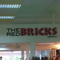 Photo taken at The Red Bricks Cafeteria (formerly Canteen 1) by Chris L. on 12/14/2012