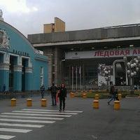 Photo taken at Спортивный плавательный комплекс ЦСКА by Рамиль Ш. on 9/17/2013