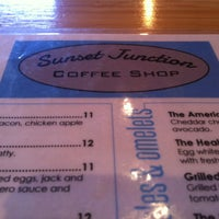 Photo taken at Sunset Junction Coffee Shop by Moya N. on 5/26/2013