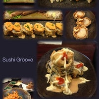 Photo taken at SushiGroove by Ririe G. on 5/22/2014