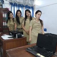 Photo taken at Dinas Sosial Tenaga Kerja & Transmigrasi Minut by Dethe S. on 6/4/2014