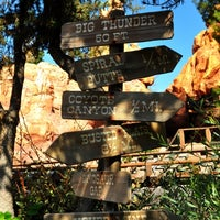 Photo taken at Big Thunder Mountain Railroad by Chris T. on 10/6/2012