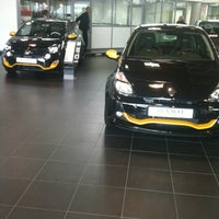 Photo taken at Renault Rennes Longchamps by Bastien M. on 10/13/2012