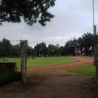 Photo taken at Lapangan Kapten Mudita Bangli by Nengah R. on 12/29/2016