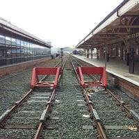 Photo taken at Aberystwyth Railway Station (AYW) by Danny W. on 4/27/2013