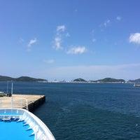 Photo taken at 青方港フェリーターミナル by crueza on 8/27/2016