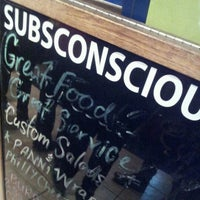Photo taken at SubsConscious by Darrain M. on 10/15/2012