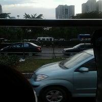 Photo taken at Jembatan Semanggi by Dian S. on 10/16/2012