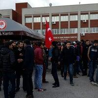 Photo taken at İktisadi ve İdari Bilimler Fakültesi Kantini by fuat Ö. on 12/29/2014