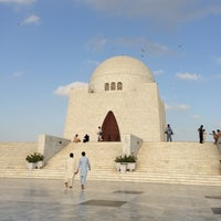 Photo taken at Mazar-e-Quaid by Georgios T. on 10/12/2012