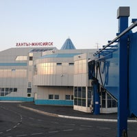 Photo taken at Khanty-Mansiysk International Airport (HMA) by Alex P. on 7/23/2013