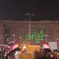 Photo taken at Tahrir Square by Dinaz H. on 7/2/2013