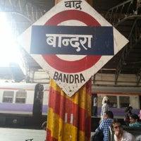 Photo taken at Bandra Railway Station by jinesh m. on 2/13/2013