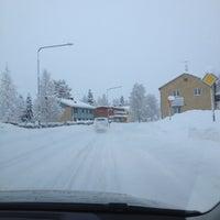 Photo taken at Norsjö by StefanJ on 12/26/2012
