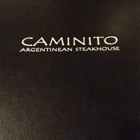 Photo taken at Caminito Steakhouse by Don M. on 9/7/2013