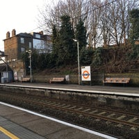 Photo taken at Rectory Road Railway Station (REC) by Doreen Joy on 2/14/2017