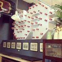Photo taken at Brunswick House Cafe by Doreen Joy on 9/21/2013