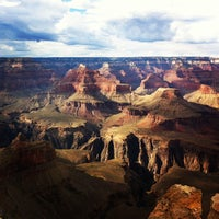 Photo taken at Grand Canyon National Park (South Rim) by Abhir Y. on 7/20/2013