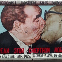 Photo taken at East Side Gallery by Andrea U. on 11/3/2012