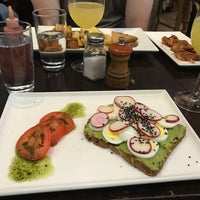 Photo taken at Ella (Kitchen & Bar) by Morgan M. on 6/12/2018