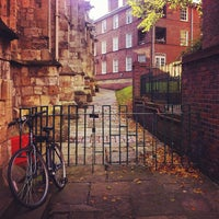 Photo taken at St Mary's Square by Samuel N. on 10/14/2012