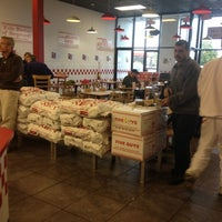 Photo taken at Five Guys by David B. on 10/13/2012