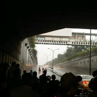 Photo taken at Underpass Pasar Minggu by christian on 12/21/2012