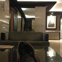 Photo taken at Hotel Paral·lel by Антон Н. on 1/15/2013
