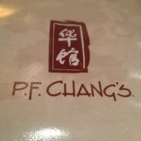 Photo taken at P.F. Chang's by Claudia on 7/4/2013