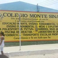 Photo taken at colegio monte sinai by #TimBeta Alexandre #. on 2/22/2013