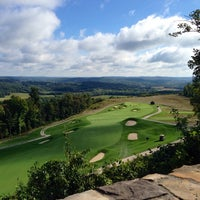 Photo taken at The Pete Dye Course at French Lick by Scot I. on 9/21/2013