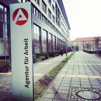 Photo taken at Agentur für Arbeit by Savin E. on 1/17/2014