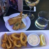Photo taken at Uno Mediterranean Restaurant & Bar by Veronika V. on 2/18/2017