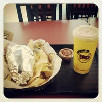 Photo taken at Moe's Southwest Grill by Angela L. on 4/21/2013