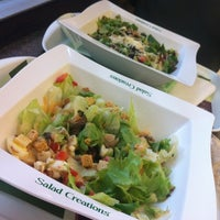 Photo taken at Salad Creations by Camilla E. on 10/7/2012