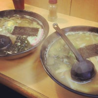 Photo taken at 新八拉麵定食 by 小鳩 羽. on 1/18/2013