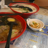Photo taken at 新八拉麵定食 by 小鳩 羽. on 8/2/2013