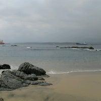 Photo taken at Playa Las Conchitas by Gabriela P. on 9/30/2012