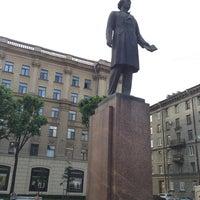 Photo taken at Памятник Добролюбову by Olga S. on 6/27/2013