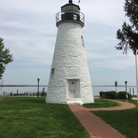 Photo taken at Concord Point and Lighthouse by Jeffrey G. on 4/27/2017