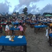 Photo taken at Jimbaran Beach Cafe by Matěj K. on 7/13/2017