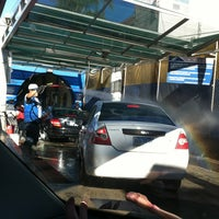 Photo taken at Rapidito Car wash by Cesar U. on 1/2/2013