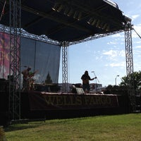 Photo taken at Denton Arts and Jazz Festival by Hutch I. on 4/27/2013