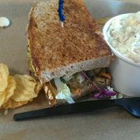 Photo taken at Noble Sandwich Co. by Matt D. on 10/23/2012
