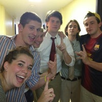 Photo taken at Sigma Chi Fraternity - University of Michigan by Hannah S. on 9/28/2012