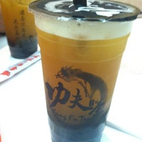 Photo taken at Kung Fu Tea (功夫茶) by Brittany Ann H. on 12/18/2012