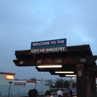 Photo taken at Metrolink Industry Station by William R. on 10/4/2012