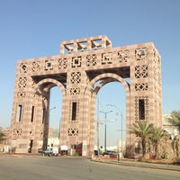 Photo taken at Taibah University by Bander A. on 12/15/2012
